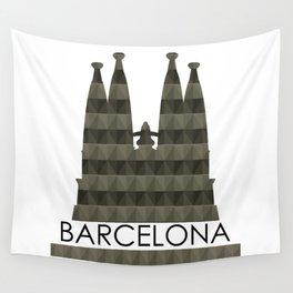 Sagrada Familia Wall Tapestry