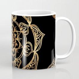 Gold Foil Mandala Coffee Mug