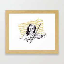 Paganini (3) Framed Art Print