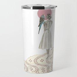 A Bird in the Hand Travel Mug