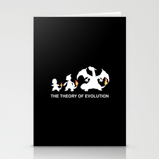 The Theory of Evolution  Stationery Cards
