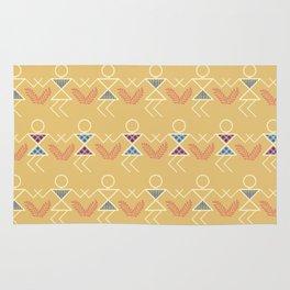 Summer Warli Print Rug