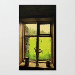 A Light through Yonder Window  Canvas Print