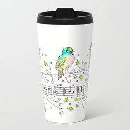 Three Little Birds Travel Mug
