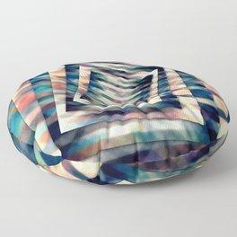 Rotating Grunge Rectangle Floor Pillow