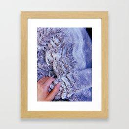 Cozy Blanket Framed Art Print