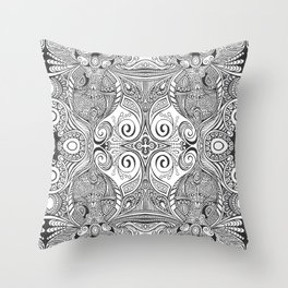 Bejeweled Lines Throw Pillow