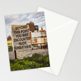 Highline View III Stationery Cards
