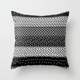 noisy pattern 01 Throw Pillow