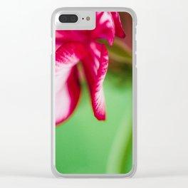 Geranium 4 Clear iPhone Case