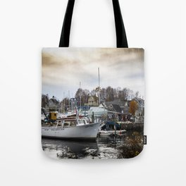 Kennebunkport Habor  Tote Bag