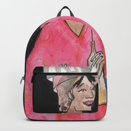 Sipping Salon Gossip Backpack