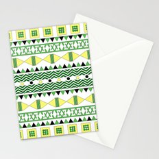 Geometric Citrus Stationery Cards
