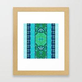 Green Dream - by Fanitsa Petrou Framed Art Print