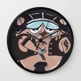 The Hippolyte cat Part#8 Wall Clock