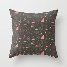 Midnight Starshine Throw Pillow