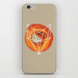 Geometric Fox iPhone Skin
