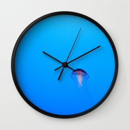 Floating. Wall Clock
