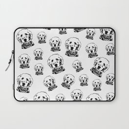 SPECIAL GIFTS for the Goldendoodle Dog lover from Monofaces Laptop Sleeve