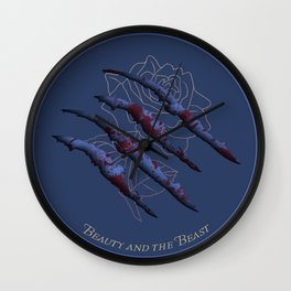 The Original Story: Beauty and The Beast Wall Clock