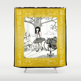 Snow White and The Hunter Shower Curtain