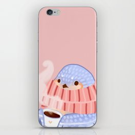 Cozy Canaries- Coffee Canary  iPhone Skin
