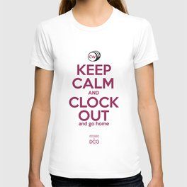 CW Keep Calm and Clock Out T-shirt