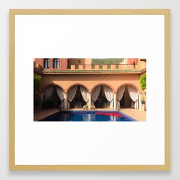 Hotel Kasbah Tamadot, Morocco Framed Art Print