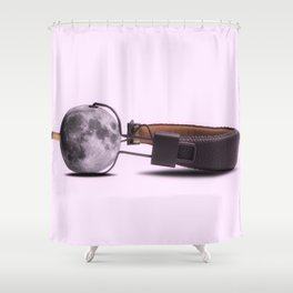 Music is moonlight Shower Curtain