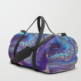 Iridescent Fantasy Abstract Duffle Bag