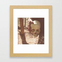 Catacomb Culture - Skull Witch Framed Art Print