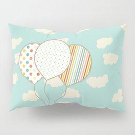 Balloons that Fly Pillow Sham