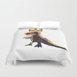 Basquiat Dinosaur Duvet Cover