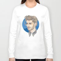 zayn malik Long Sleeve T-shirts featuring Malik by Megan Diño