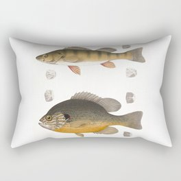 Fish illustration Rectangular Pillow