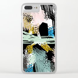 Dramatic Applause Clear iPhone Case