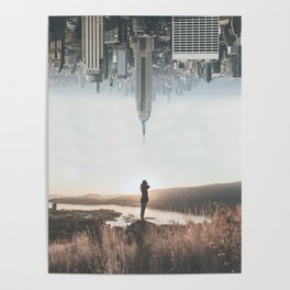 Between Earth & City Poster