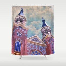 St. Mary's Catholic Church Shower Curtain