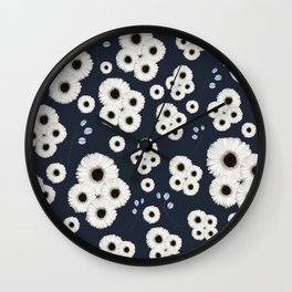 happy petals Wall Clock