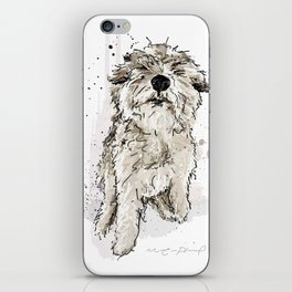 Gus the dog iPhone Skin
