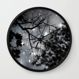 Starry Night Sky Wall Clock