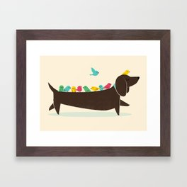 Bird Dog Framed Art Print