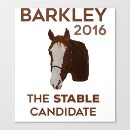 The Stable Candidate Canvas Print