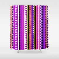 forever young Shower Curtains featuring Forever Young #2 by Ornaart