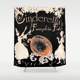 Cinderella's Pumpkin Patch ~ Altered Arthur Rackham Art Shower Curtain