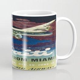 Vintage poster - Haiti Coffee Mug