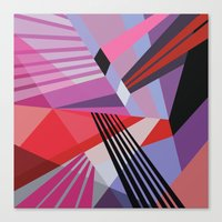 Canvas Prints featuring Amazing Runner No. 4 by Bakmann Art