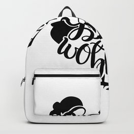 Gobble til you wobble Thanksgiving Backpack