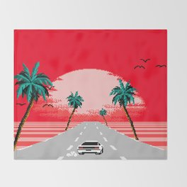 Sunset Vista Club Throw Blanket