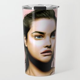 Barbara Palvin Travel Mug